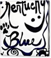 Kentucky Blue Canvas Print