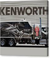 Kenworth Proudly Made In The Usa Canvas Print