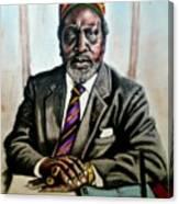 Kenyatta  Canvas Print