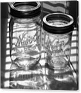 Kerr Jars Canvas Print