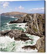 Kerry Cliffs Canvas Print