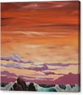 Kerry Sunset Canvas Print