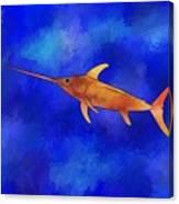 Kessonius V1 - Amazing Swordfish Canvas Print
