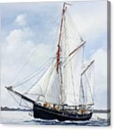 Ketch Rig Solvig Canvas Print