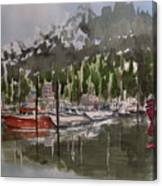 Ketchican Marina Canvas Print