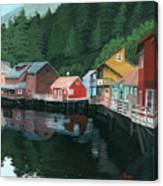 Ketchikan Canvas Print