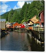 Ketchikan Creek Canvas Print