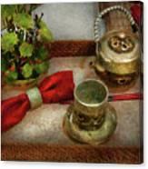 Kettle - Formal Tea Ceremony Canvas Print
