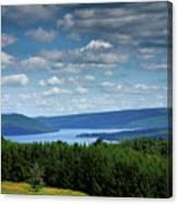 Keuka Landscape V Canvas Print
