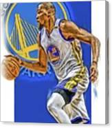 Kevin Durant Golden State Warriors Oil Art Canvas Print