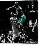 Kevin Garnett Not In Here Canvas Print