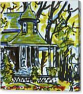 Kew Gardens Gardener's Cottage Canvas Print