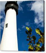 Key Biscayne Lighthouse, Florida Canvas Print
