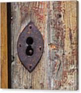 Key Hole Canvas Print