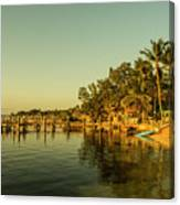 Key Largo Gold  Canvas Print