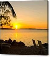 Key Largo Sunrise Canvas Print