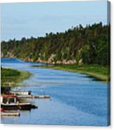 Key River Canvas Print