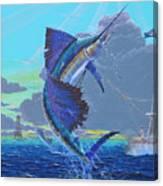 Key Sail Off0040 Canvas Print