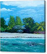 Key West Beach Canvas Print