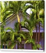 Key West Bungalow Canvas Print