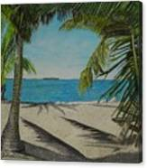 Key West Clearing Canvas Print