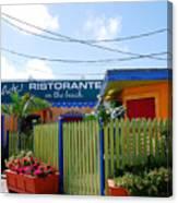 Key West Colors Canvas Print