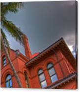 Key West Customs House Canvas Print