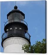 Key West Light Canvas Print