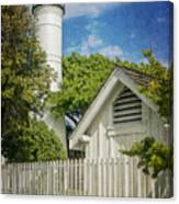 Key West Lighthouse Dsc01547_16 Canvas Print