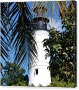 Key West Lighthouse Canvas Print