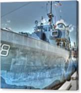Key West Navy Ship Canvas Print