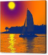 Key West Passion Canvas Print