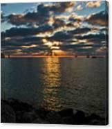 Key West Sunset 10 Canvas Print