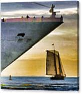 Key West Sunset Sail Canvas Print
