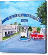 Key West U.s. Naval Station Canvas Print