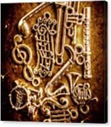 Keys Of A Symphonic Orchestra Canvas Print