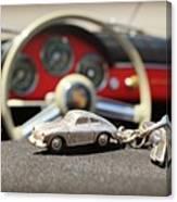 Keys To The Porsche Canvas Print