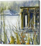 Keystone Port Townsend Ferry Canvas Print