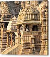 Khajuraho Temple, Chhatarpur District Canvas Print