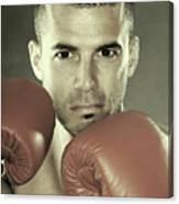 Kickboxer Canvas Print