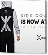 Kids Jumpsuits Canvas Print