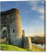 Kidwelly Castle 3 Canvas Print