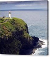 Kilauea Lighthouse On Kauai Hawaii Canvas Print