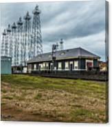Kilgore  Depot Canvas Print