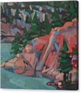 Killarney George Lake Sentinel Canvas Print