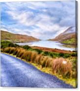 Killary Fjord In Ireland's Connemara Canvas Print