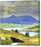 Killary Harbour County Mayo Canvas Print