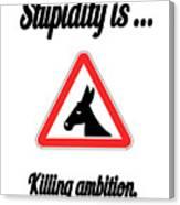 Killing Bigstock Donkey 171252860 Canvas Print