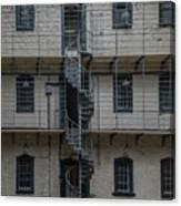Kilmainham Gaol Spiral Stairs Canvas Print