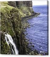 Kilt Rock On The Isle Of Skye Canvas Print